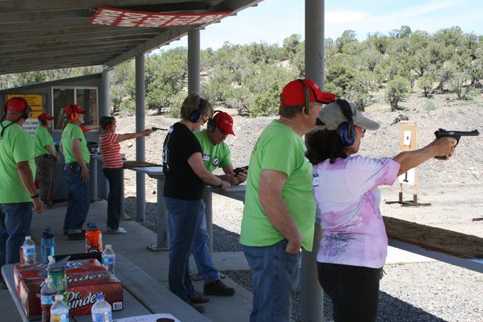 4CRP outdoor pistol range