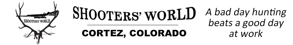 website banner ad Shooters World Cortez Colorado